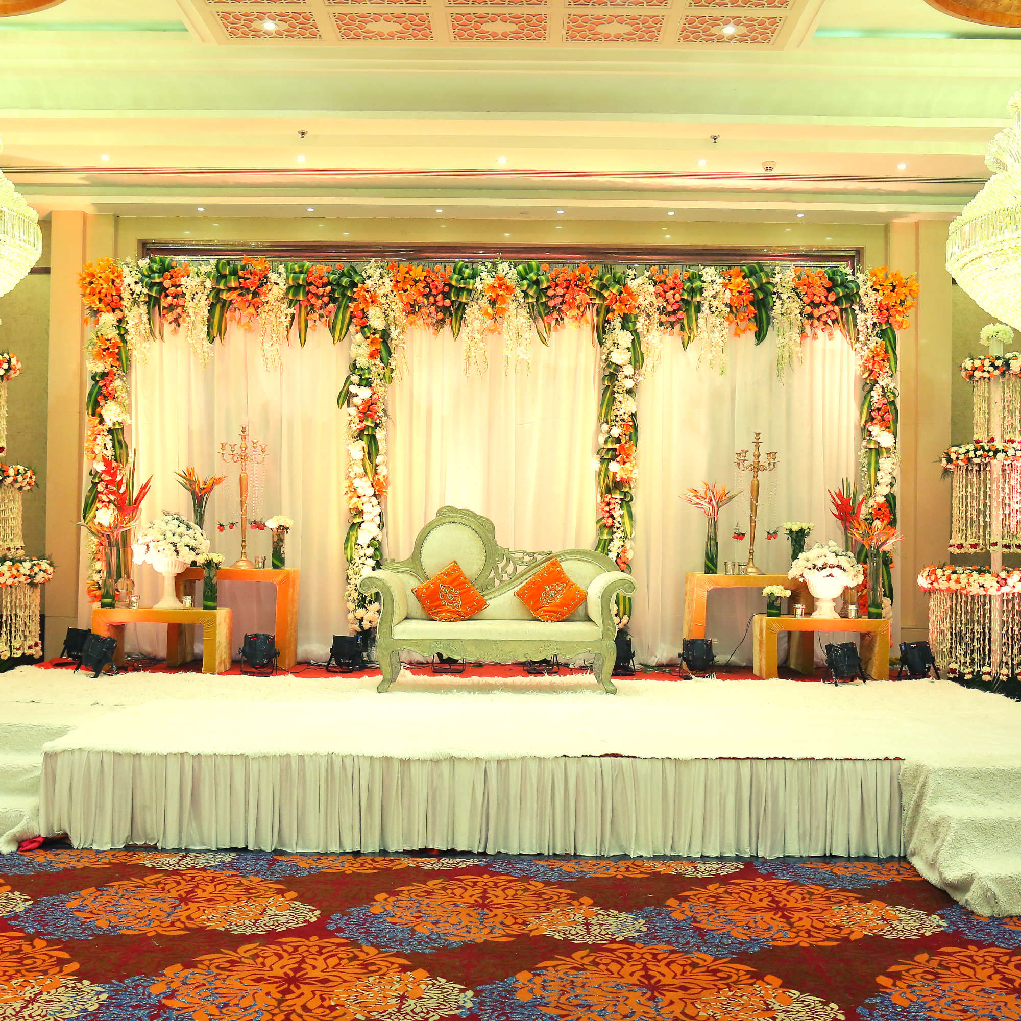 affordable banquet hall in north delhis